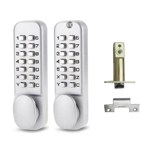 Накладной замок на батарейках H-Gang Touch On | Двери, Дизайн, Пульт | 640x640