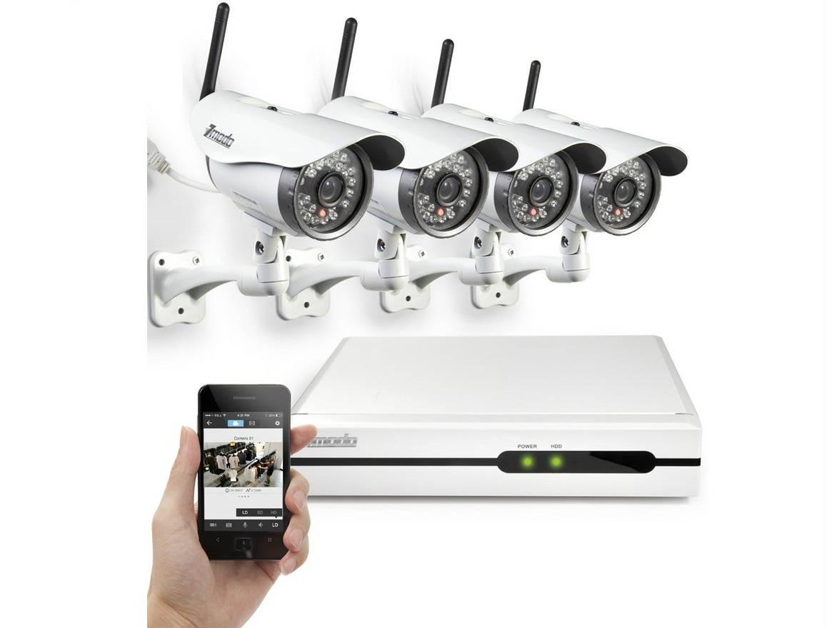 Камера видеонаблюдения беспроводная мини уличная с записью