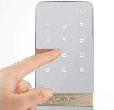 купить в москве электронный двернойзамок для стеклянной двери irevo gateman shine s10