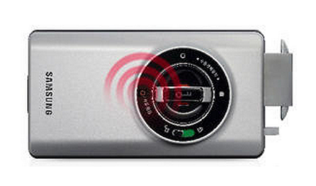 Электронный дверной замок Samsung SHS-2320 Shark купить по rf карте брелку