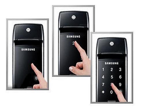 Электронный дверной замок Samsung SHS-2320 Shark купить с доставкой