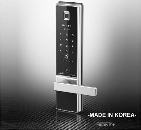 корейский биометрический дверной замок купить