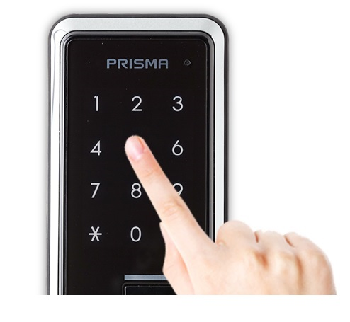 Накладной биометрический замок H-Gang Prisma M701