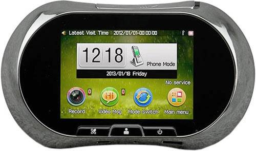 купить Беспроводной электронный GSM MMS дверной Видео глазок