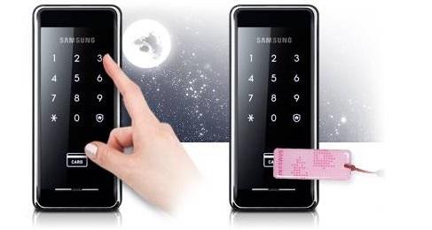 Накладной замок SHS-2920 не только безопасен, но и удобен. Открыть замок можно при помощи ввода пароля или при помощи пластиковой карточки.