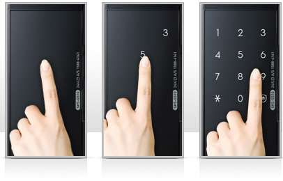 открывается по пароли электронный дверной замок