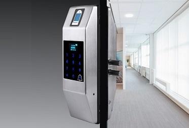 Накладной биометрический замок Selock Smart с возможностью установки на узкопрофильные и пластиковые двери купить